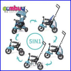 Baby Kids 4 in1 Trike Tricycle 3-Wheel Pedal Bike Girls Boy Stroller- PINK