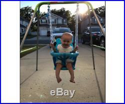 Baby Swing for Girls Boy Toddler Infant Outdoor Portable Heavy-Duty Seat Rocker