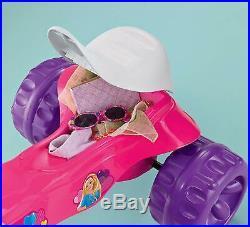 Big Wheel Trikes Barbie Tricycle Bike Tough Bicycle Kids Motorcycle Girls Toys
