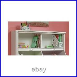 Bookcase Toy Storage Bin Kids Bedroom Nursery Furniture Shelf Box Footboard Girl