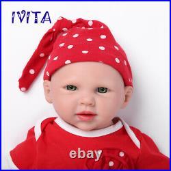 Children Birthday Gifts Toy 19 3600g Realistic Silicone Rebirth Baby Girl Doll