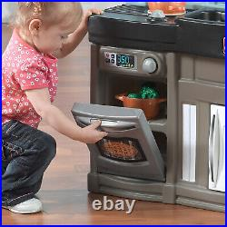 Children Boys Girls Kids Toy Play Chef Kitchen With 25 Piece Accessory Set Step2