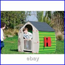 Childrens Plastic Playhouse Kids Outdoor Magic Garden House Girls Boys Play Den