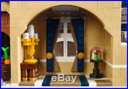 Cinderella Princess Castle City set Building Blocks for kids palace girls gift