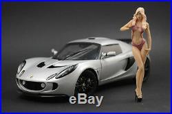 Cleo Show Girl Figure for 118 Lamborghini Aventador LB AUTOart
