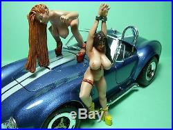 Cobra Girls 1/18 Painted Figures Made By Vroom For Exoto Minichamps