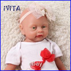 Cute 18 Full Body Silicone Filled Lifelike Reborn Baby Doll Baby Toy Girl Gift