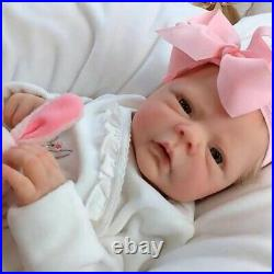 Cute Silicone Simulation Baby Dolls Toys Reborn Girls Lifelike Birthday Gifts