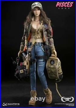 Dam Toys Damtoys 1/6 Scale Modern Us Female Combat Girl Series Lucy Dgc004