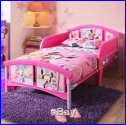 Disney Minnie Mouse Bedroom Set Girls furniture For Toddlers Bed Table Toy Child