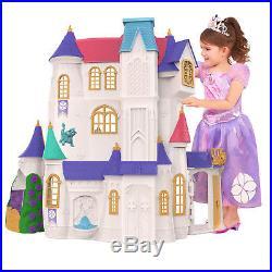 Disney Sofia the First Castle Dollhouse Playset For Girl Kid Princess Doll House