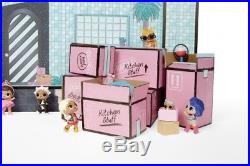 Dollhouse Toys LOL Surprise Real Wood For Little Girls With 85 Multicolor