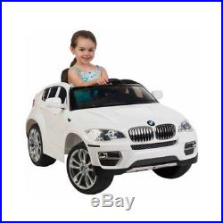 Electric Cars For Kids BMW X6 6-Volt To Ride For 3 year Old Boys/Girls Car Toys