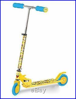 Emoji Light UP 2 Wheel Push Scooter for kids boy girl indoor and outdoor SV13228