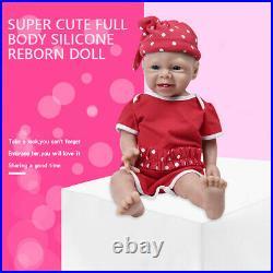 Fairy 193.4KG Lifelike Rebirth Baby Full Body Silicone Girl Waterproof Doll Toy
