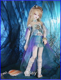 Fashion 1/4 BJD/SD Doll Serin Rico Fish Mermaid Resin For Baby Girl Toy Gifts