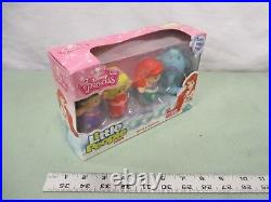 Fisher Price Little People NEW Disney Princess Ariel Sisters dolphin 4 pack toy