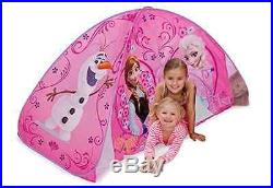Frozen Kids Indoor Playhouse Princess House Castle Bed Tent Toys Girls Gift Olaf