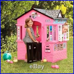 Girls LOL Outdoor Playhouse Play Toys Storage House Activity Tent Garden Games