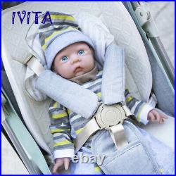 Handmade Silicone Rebirth Baby Doll 20 3000g Lifelike Cute Girl Newborn Toy