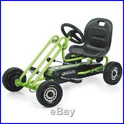 Hauck Lightning Childrens Pedal Go-Kart, Ride-On Car For Boys & Girls With