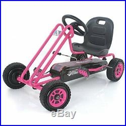 Hauck Lightning Pedal Go Kart Pedal Car Ride On Toys for Boys & Girls w