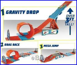 Hot Wheels Track Builder Race Crate Track Set For Children Boys Girls Toy GIft