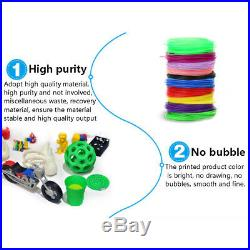 Hot Xmas Gift 3D Printing Pen Graffiti Drawing Toys Present For Boys & Girls US
