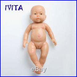 IVITA 16'' Realistic Silicone Reborn Baby Girl Doll Handmade Toys for Kids