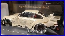 Ignition Model 118 RWB 993 ARMY GIRL Pearl White IG1961 Model Car Porsche 911