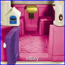 Indoor Outdoor Play House Large Cute Pink for Girls Kids Children Crawl Toy Gift