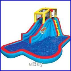 Inflatable Water Slide Swimming Pool Backyard Splash Center For Kid Boy Girl New