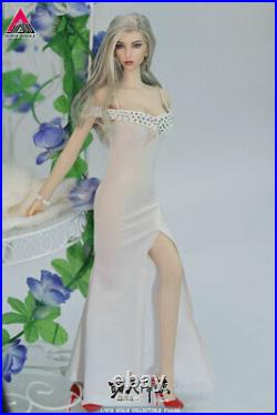 JIAOU DOLL 1/6 Angel Girl Hexi Head Body 2pcs Clothes Shoes Model 12 Figure Toy