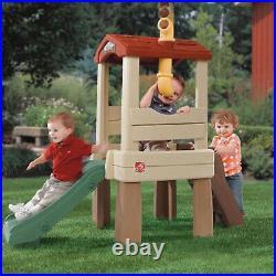Kid Plastic Playhouse Outdoor Indoor Girl Boy Climber Kid Fun Playeset Slide New