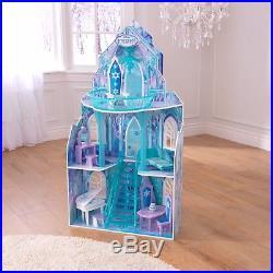 KidKraft Disney Frozen Ice Castle Barbie Size Dollhouse Doll House Toys for Girl