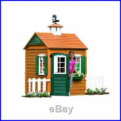 Kidcraft Big Outdoor Playhouse Palplay For Kids Boys Girls Outdoor Cottage Cabin