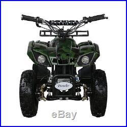 Kids Electric Quad ATV 4 Wheeler 24V 500W for Boys Girls toys TU