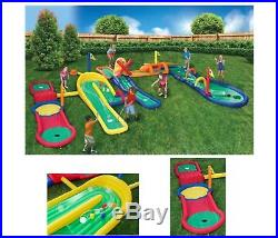 Kids Inflatable Mini Golf Adventure Park for Boys Girls Family Outdoor Game