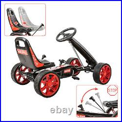 Kids Pedal Go kart Powered Cars Ride-On Toys 4 Wheels Outdoor Boy & Girl 3-8Year