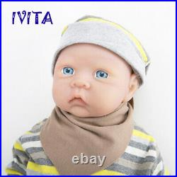 Kids Playmate Toys 203kg Full Body Soft Silicone Reborn Baby Girl Doll Washable