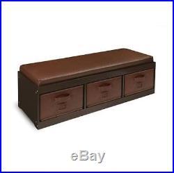 Kids Storage Bench For Bedroom Corner Badger Basket Chest Bins Room Seat Toy Box