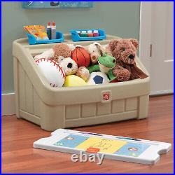 Kids Toy Storage Organizer Box Container Playroom Bin Chest Children Art Lid NEW