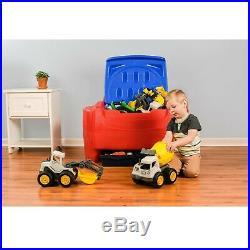 Kids Toy Storage Organizer For Boys Girls Bookshelf Bookcase Big Toys Box Chest