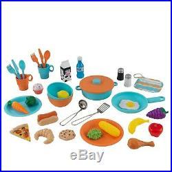 Kitchen Play Set Kids Girls Boys Pretend Toys Children Toddler Wooden Sturdy NEW