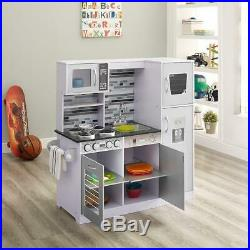 Kitchen Play Set Toy For Girls Boys Children Kids Pretend Play Cooking Playset