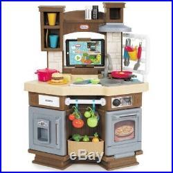 Kitchen Play Set for Kids Plastic Boys Girls Children Toddler Playset Cook Toys