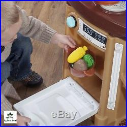 Kitchen Playset For Girls Boys Set Play Food Toddler Pretend Kids Toy Cooking