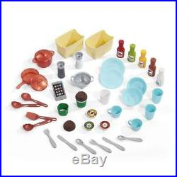 Kitchen Playset For Girls and Boys Pretend Play Toy Cooking Set Toddler Kids