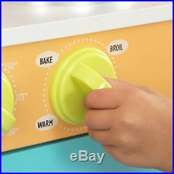Kitchen Playset Toy For Girls Boys Children Kids Pretend Play Kitchens Wooden