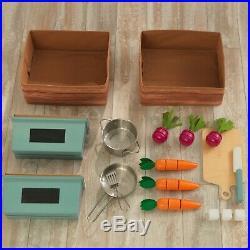 Kitchen Set For Girls Boys Children Kids Pretend Play Kitchens Cooking Playset